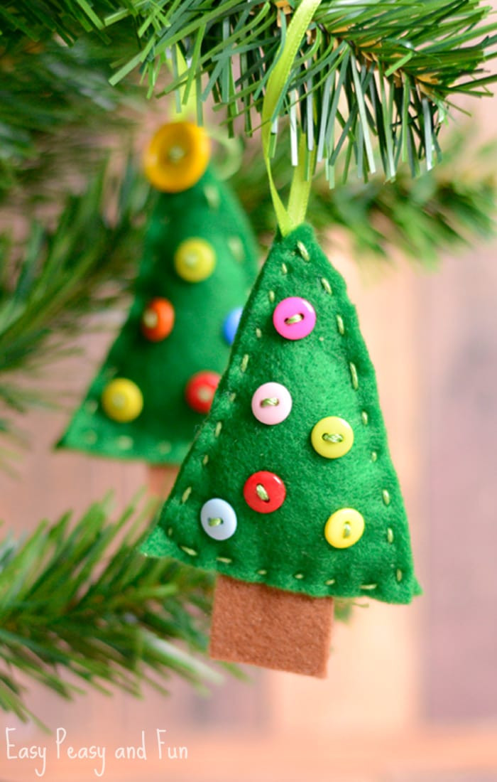 Inspirational Felt Christmas Tree ornament Easy Peasy and Fun ornaments On Christmas Tree Of Delightful 46 Images ornaments On Christmas Tree