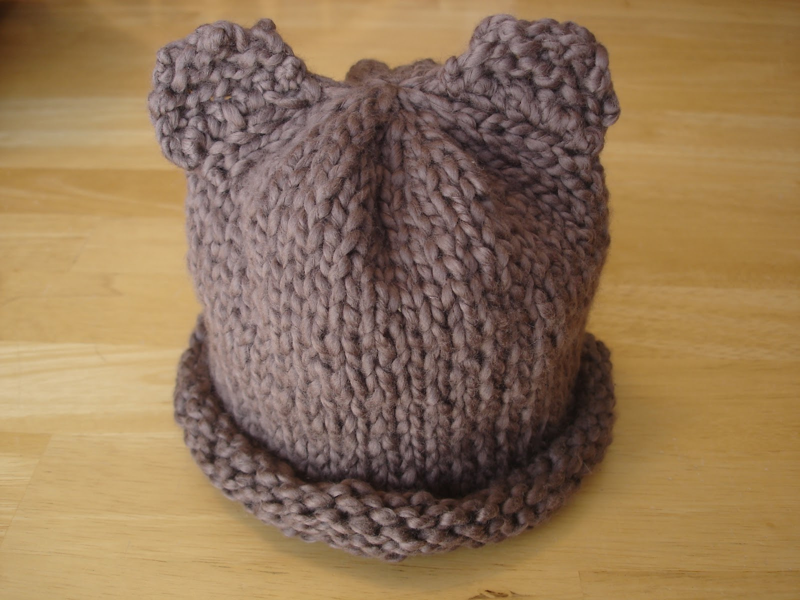 Inspirational Fiber Flux Free Knitting Pattern Bear Hat for the Rest Of Us Knitted Bear Pattern Of Brilliant 42 Photos Knitted Bear Pattern
