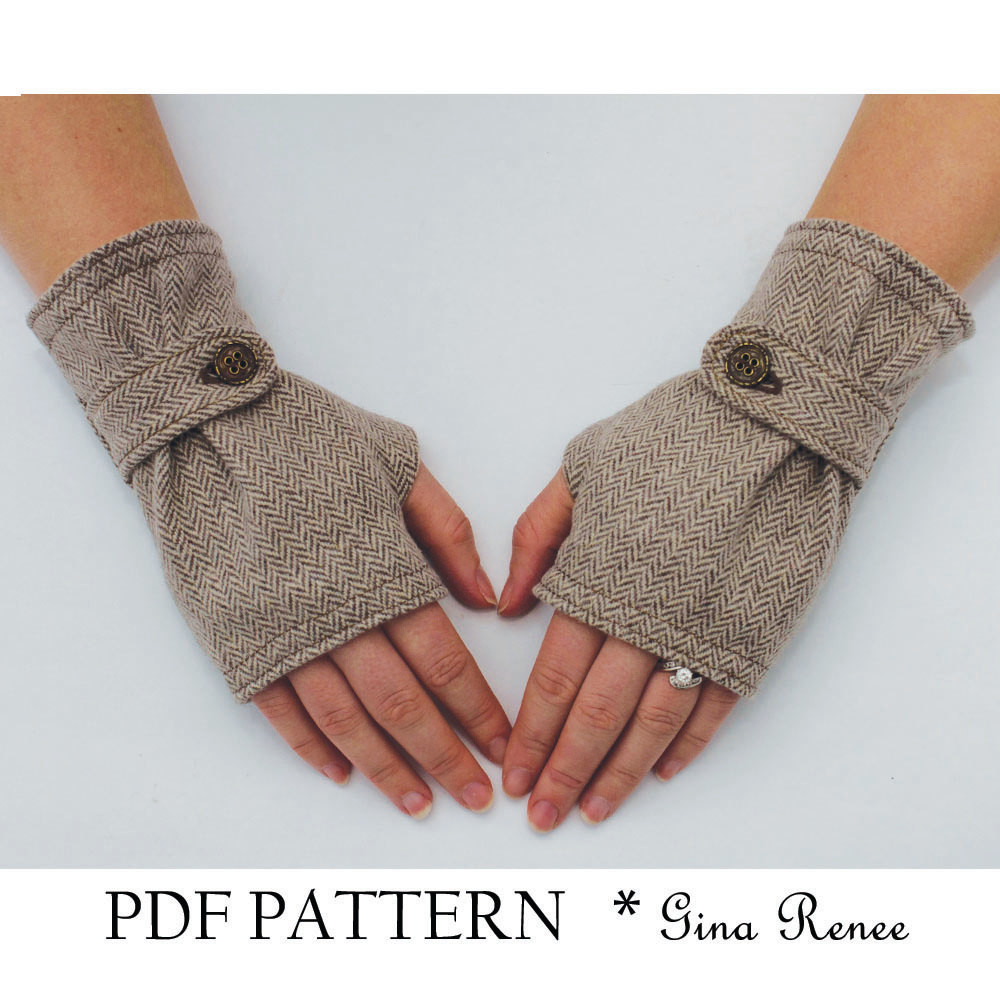 Inspirational Fingerless Glove Pattern with Strap Pdf Glove Sewing Pattern Free Pattern for Fingerless Gloves Of Amazing 49 Pictures Free Pattern for Fingerless Gloves