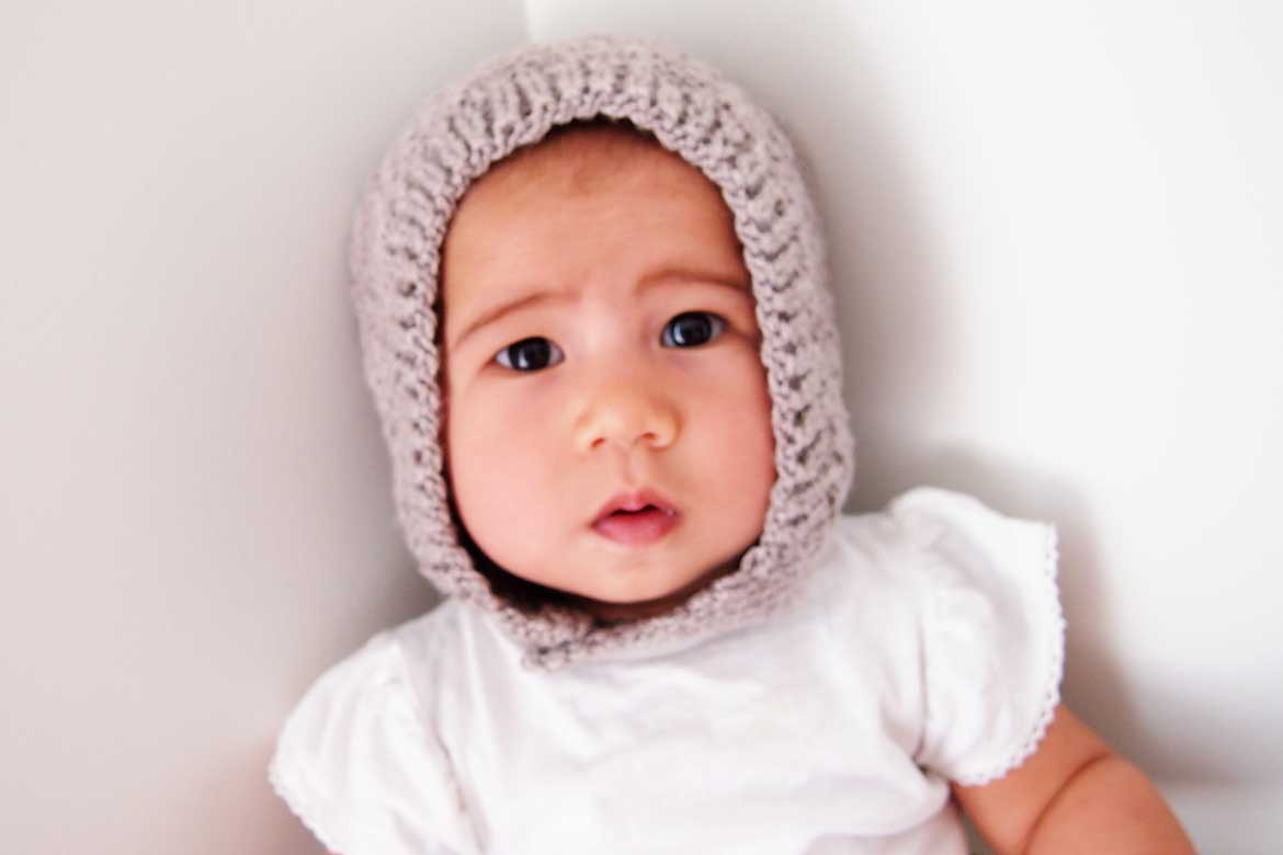 Inspirational Free Baby Bonnet Hat Pattern Easy Knitting for Beginners Knitted Baby Bonnet Of Top 47 Pics Knitted Baby Bonnet
