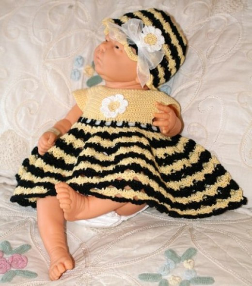 Free Baby Girl Toddler Crochet Dress Patterns from Worsted