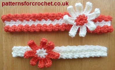Inspirational Free Crochet Baby Headband Patterns – Karla S Making It Babies Crochet Headbands Of Awesome 49 Photos Babies Crochet Headbands