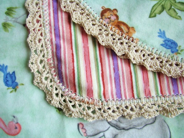free crochet edging patterns for baby blankets