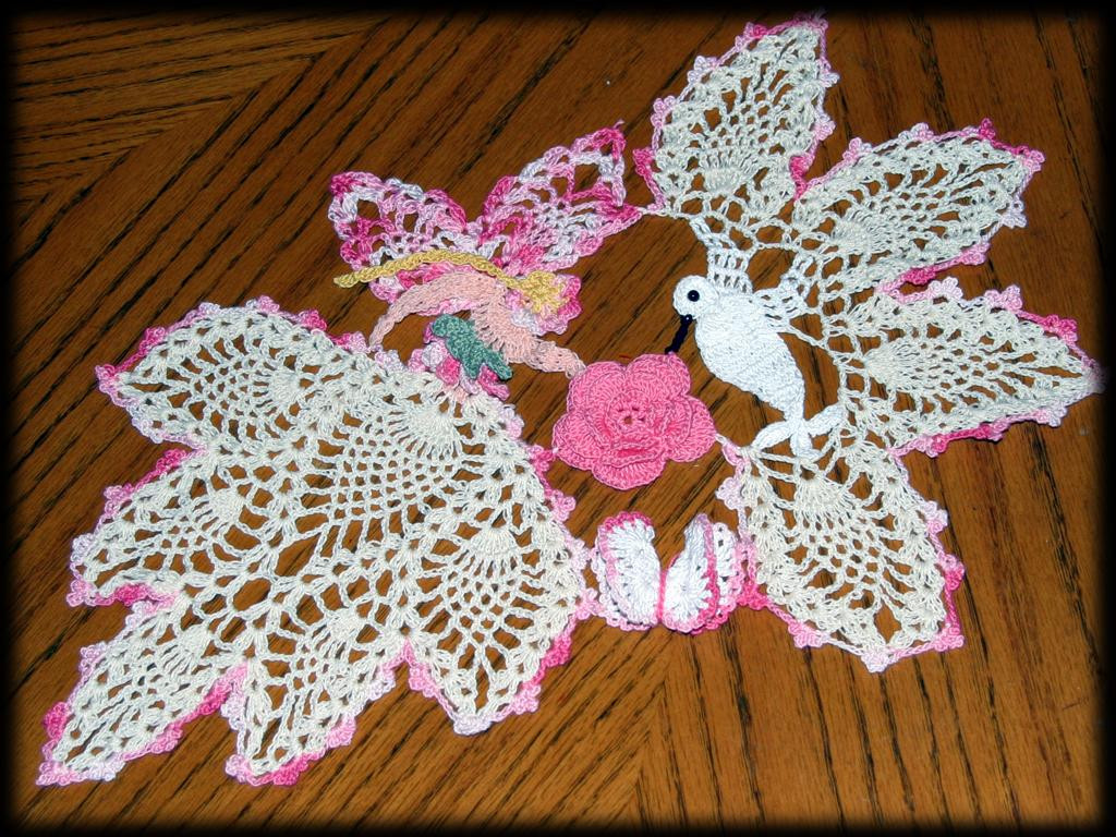 Free Crochet Hummingbird Doily Pattern Pakbit for