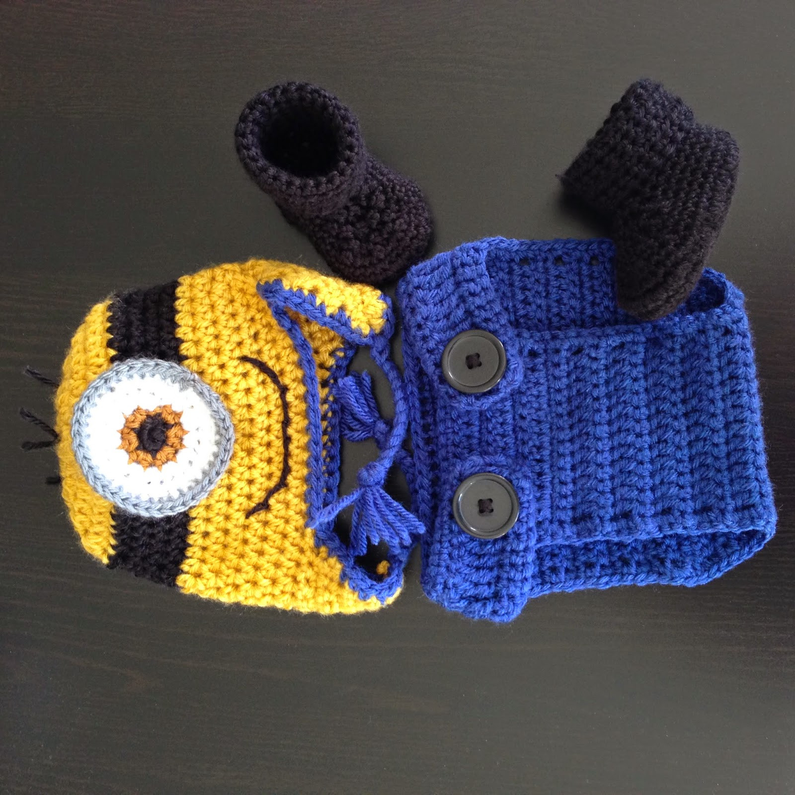 Inspirational Free Crochet Pattern for Baby Minion Overalls Dancox for Free Minion Crochet Pattern Of Marvelous 44 Images Free Minion Crochet Pattern