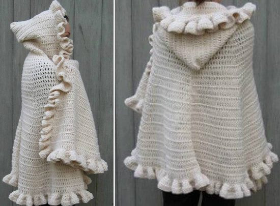Inspirational Free Crochet Pattern for Hooded Cloak Dancox for Hooded Cape Pattern Of Great 42 Pictures Hooded Cape Pattern