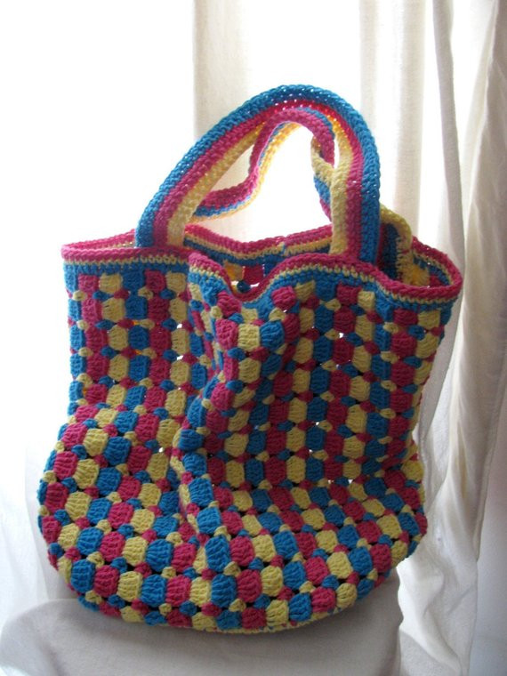 Free Crochet Pattern For Purses Totes Dancox for