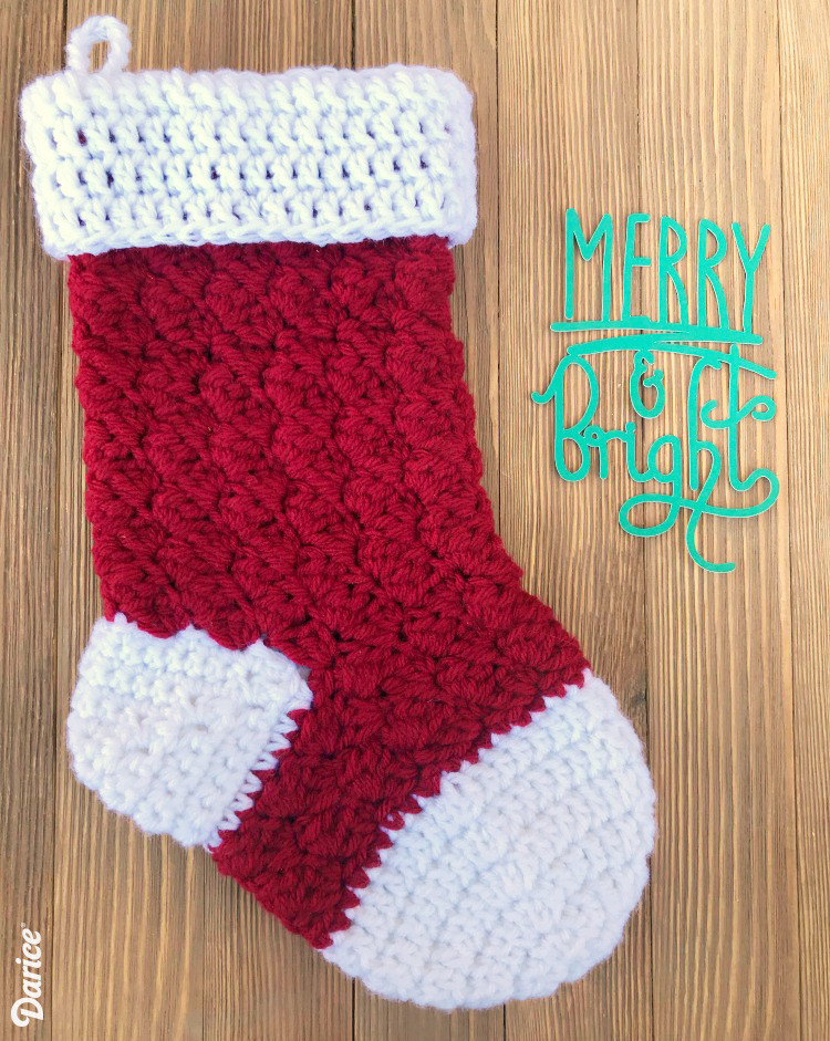 Inspirational Free Crochet Stocking Pattern Step by Step Darice Crochet Pattern for Christmas Stocking Of Gorgeous 40 Models Crochet Pattern for Christmas Stocking