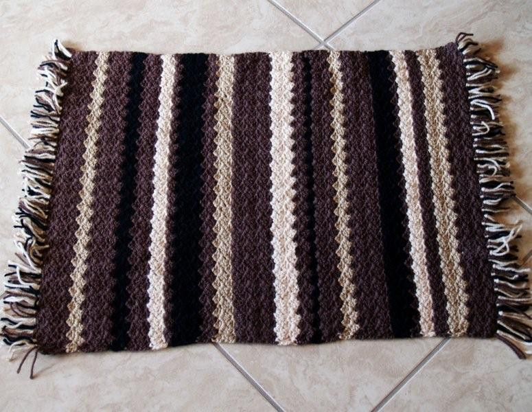 Inspirational Free Crocheted Rug Patterns – Easy Crochet Patterns Crochet Bath Rugs Of Contemporary 44 Pictures Crochet Bath Rugs