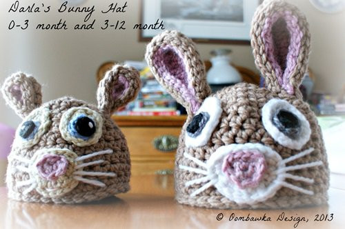 Inspirational Free Kids Animal Hat Crochet Patterns for Dress Up Crochet Bunny Hat Of Gorgeous 50 Photos Crochet Bunny Hat