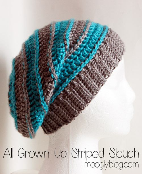 Inspirational Free Pattern All Grown Up Striped Slouch Hat Free Crochet Slouchy Hat Patterns Of Amazing 50 Pictures Free Crochet Slouchy Hat Patterns