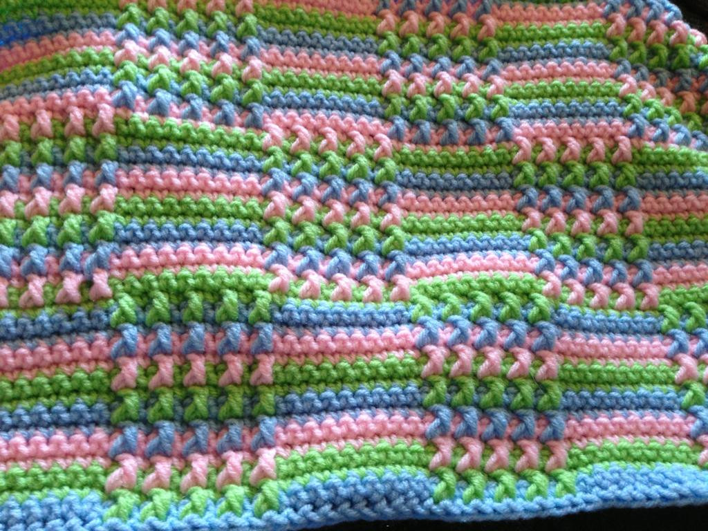 Inspirational Free Pattern This Blocks Crochet Afghan is Absolutely Pretty Crochet Stitches Of Incredible 48 Pics Pretty Crochet Stitches