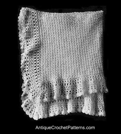 Inspirational Free Vintage Crochet Baby Shawl Patterns Crochet and Knit Vintage Baby Blankets Of Adorable 44 Images Vintage Baby Blankets
