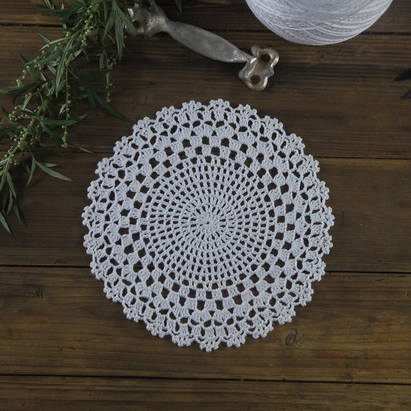 Free Vintage Crochet Placemat Patterns Traitoro for