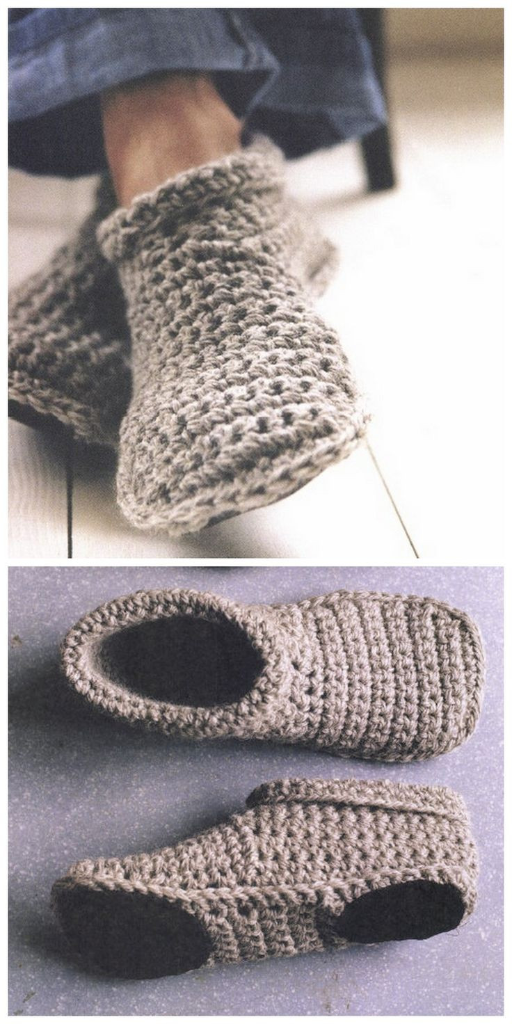 Get Trendy Crochet Slippers This Winter Crochet and Knit