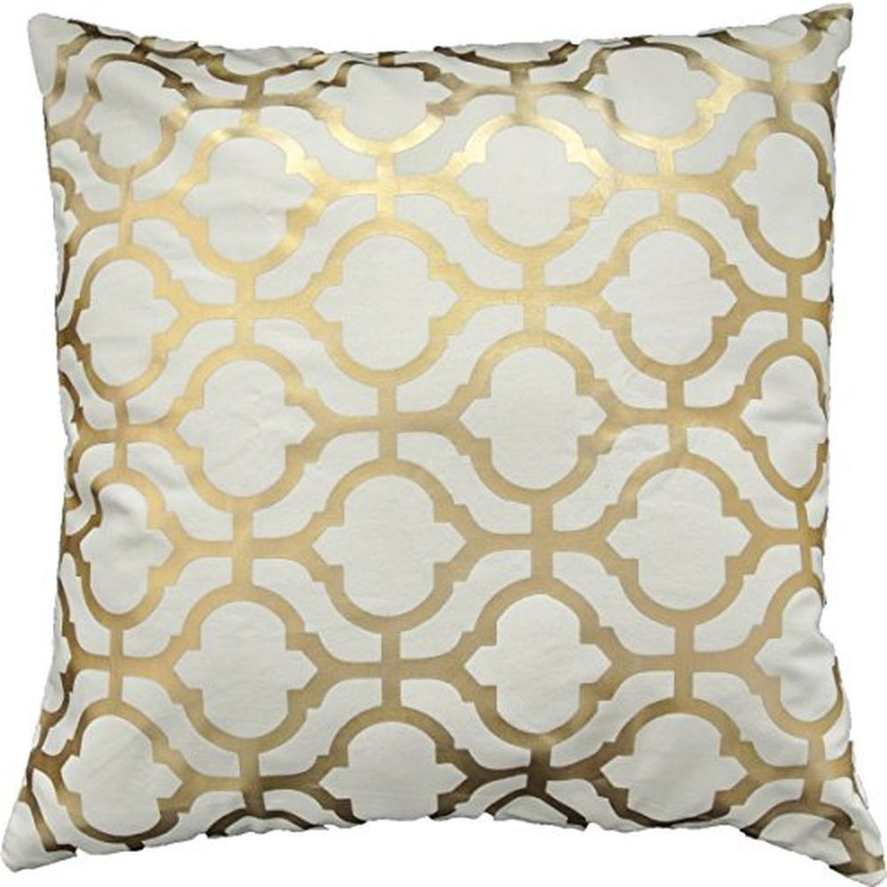 Inspirational Gold Foil Geometric Print Decorative Throw Pillow Cover 18 Patterned Throw Of Amazing 40 Photos Patterned Throw