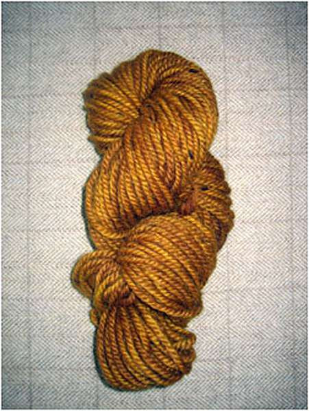 Gold Yarn — $18 00 per skein The Blue Tulip Woolery