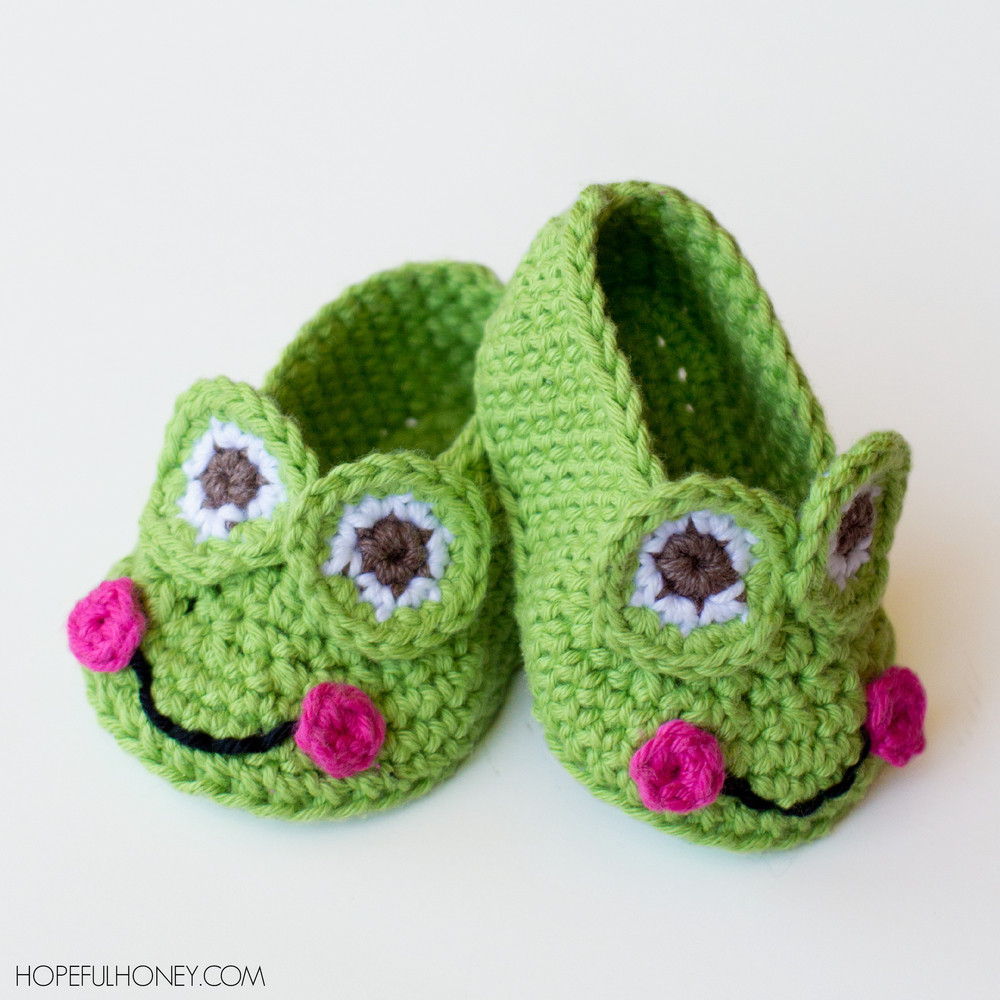 Inspirational Granddaughter S Favorite Frog Baby Booties Crochet Baby Slippers Of Marvelous 50 Images Crochet Baby Slippers