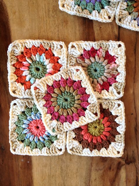 Inspirational Granny Squares Ravelry and Squares On Pinterest Free Crochet Granny Square Patterns Of Top 47 Pics Free Crochet Granny Square Patterns