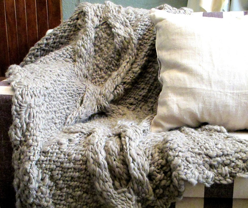 Inspirational Grey Cable Knit Throw Blanket Cable Blanket Of Contemporary 40 Ideas Cable Blanket