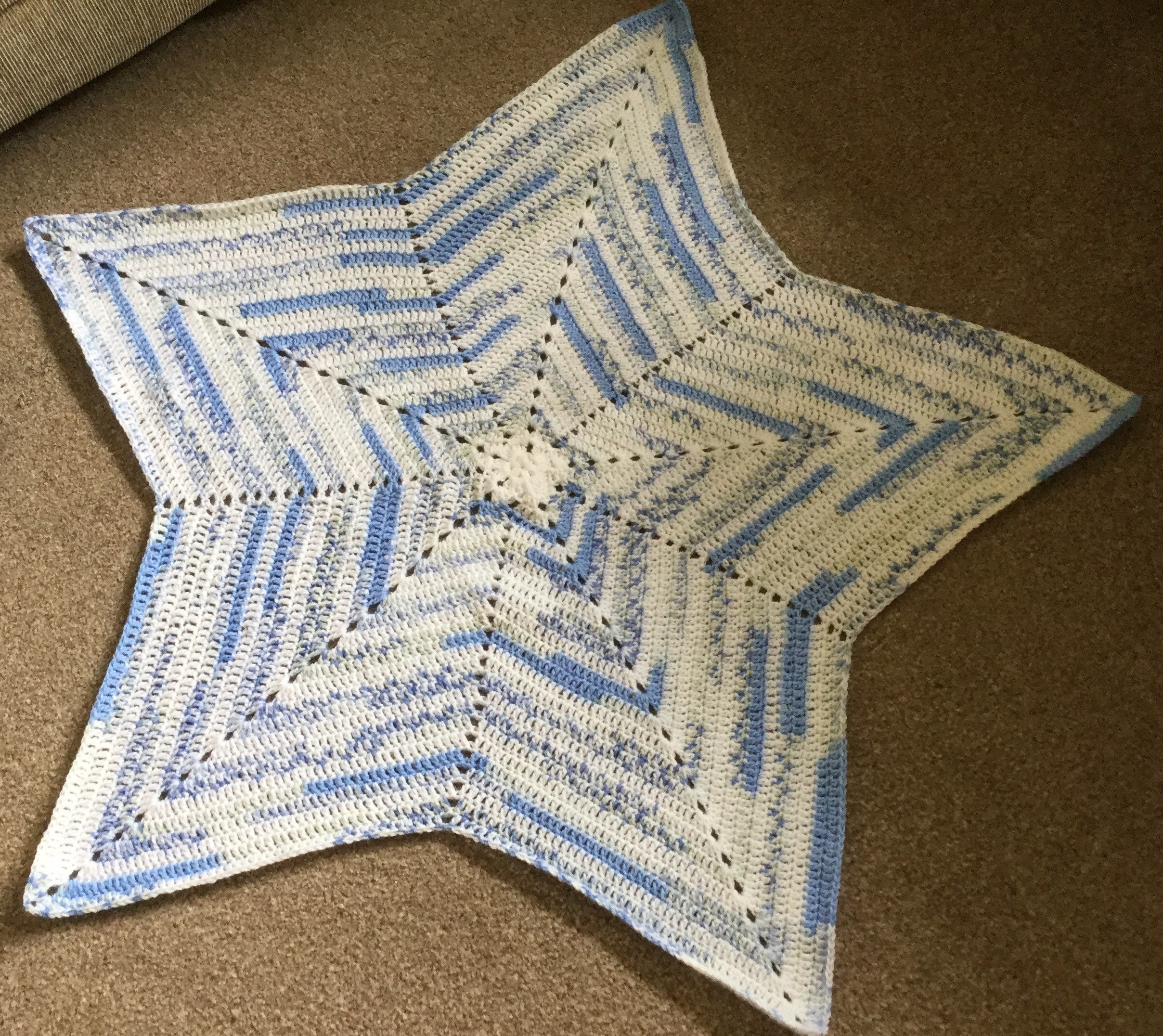 Inspirational Hand Crochet 5 Point Star Baby Blanket Crochet Star Blanket Of Superb 49 Images Crochet Star Blanket