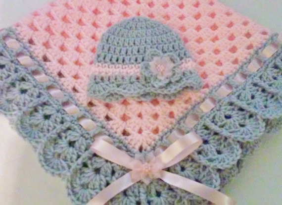Inspirational Hand Crochet Baby Blanket and Hat Set Granny Square Baby Crochet Baby Gifts Of Brilliant 47 Ideas Crochet Baby Gifts