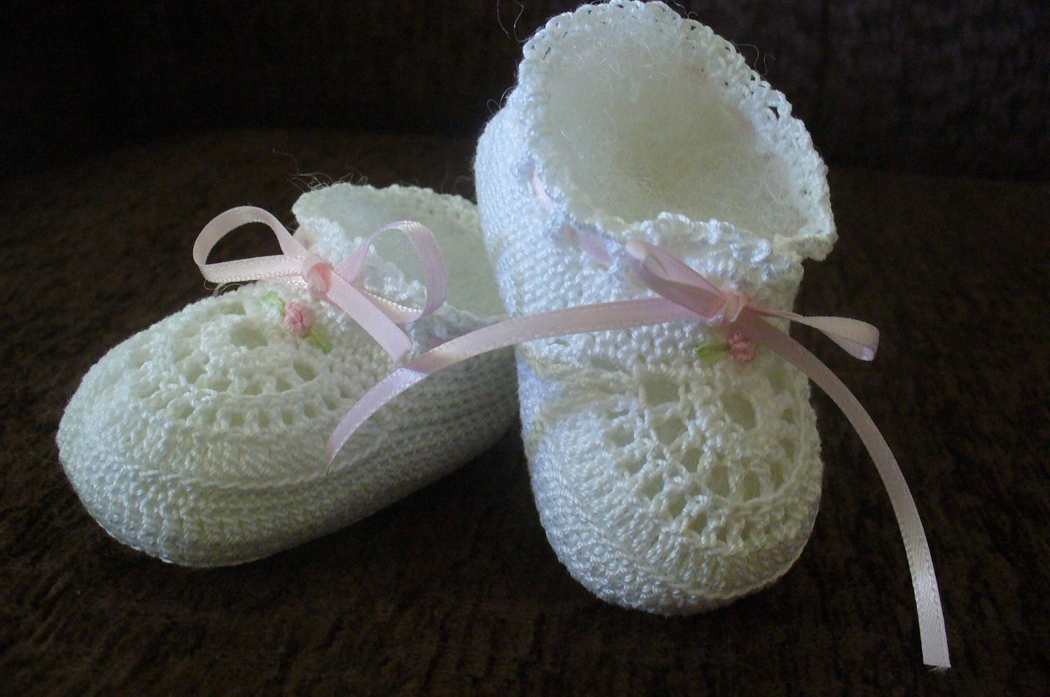 Inspirational Hand Crocheted Old Fashioned Cotton Thread Baby Girl Booties Crochet Cotton Thread Of New 50 Pics Crochet Cotton Thread