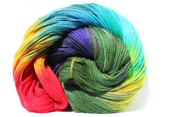 Inspirational Hand Dyed Yarn Red Aqua Purple Yellow Green by Smaksuperfibers Green Variegated Yarn Of Beautiful 50 Pics Green Variegated Yarn