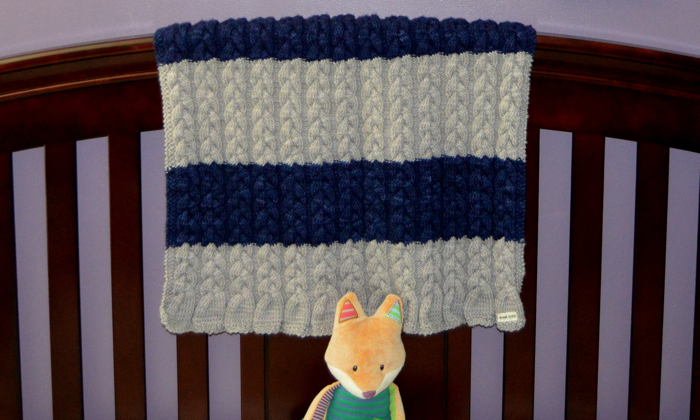 Inspirational Hand Knit Cabled Baby Blanket Cable Knit Baby Blanket Of Amazing 41 Photos Cable Knit Baby Blanket