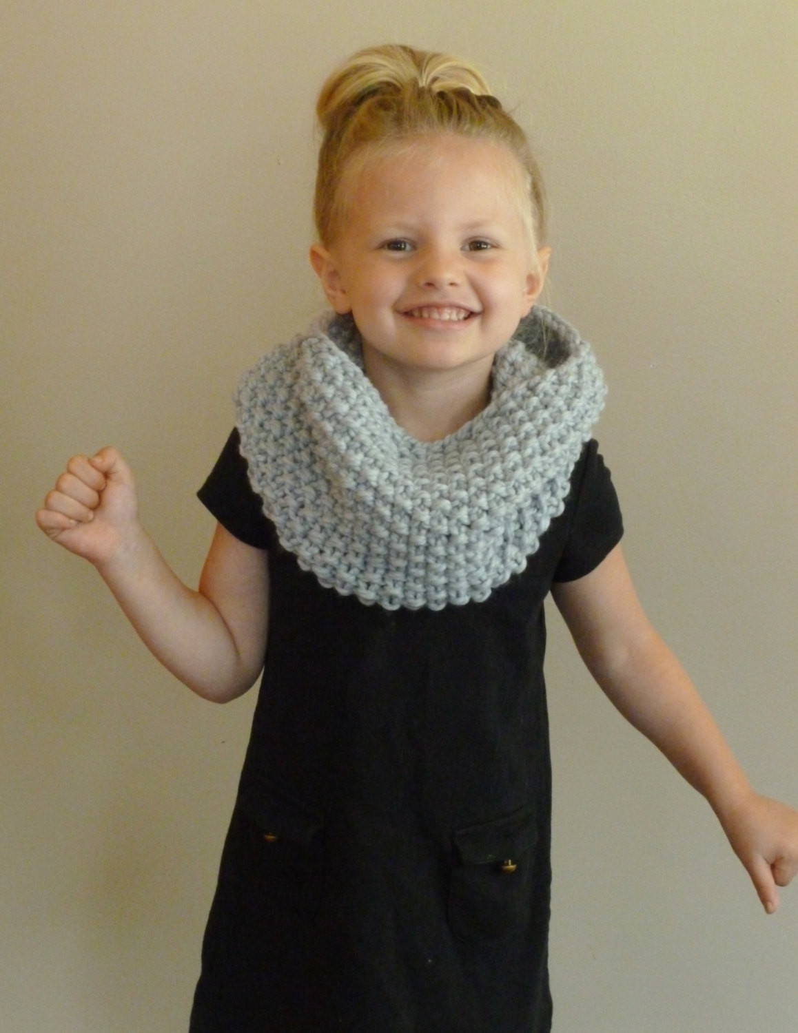 Inspirational Hand Knit toddler Kids Cowl Choose Color Children S Seed Child Scarf Knit Pattern Of Top 42 Photos Child Scarf Knit Pattern