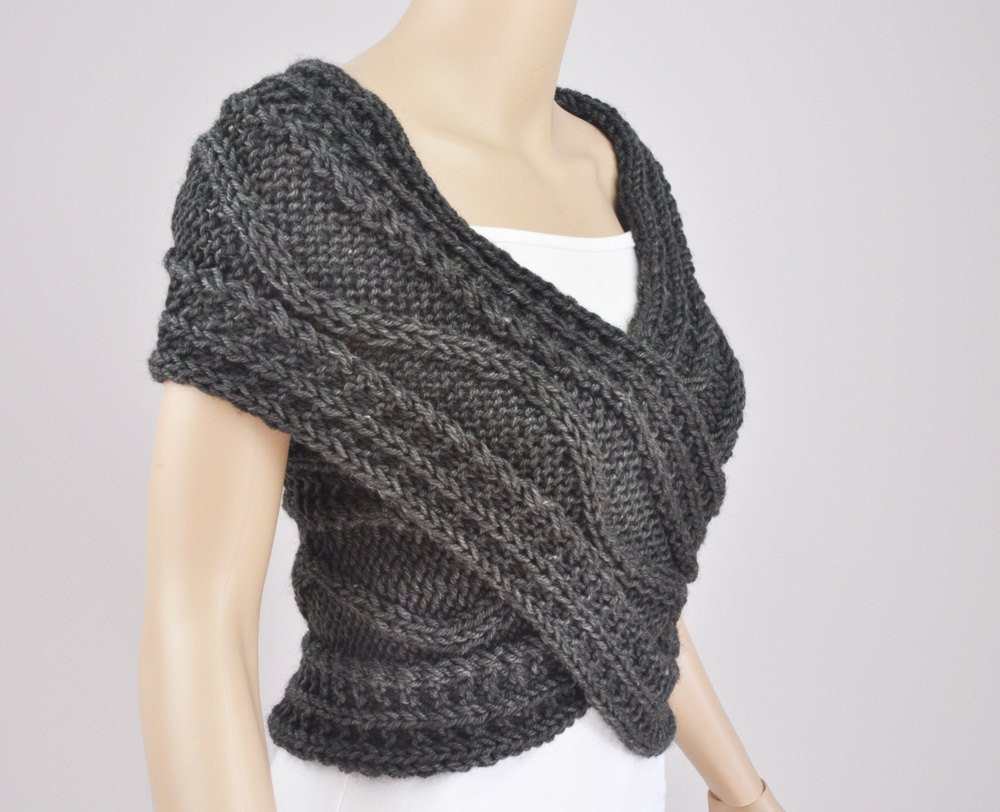 Inspirational Hand Knit Vest Cross Sweater Capelet Neck Warmer In Knitted Vest Of Great 48 Pics Knitted Vest