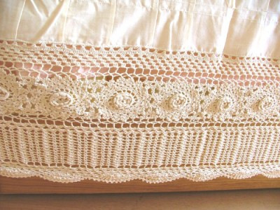 Inspirational Handmade Crochet Lace Bed Skirt Queen White Crochet Bed Skirts Of Gorgeous 41 Pics Crochet Bed Skirts
