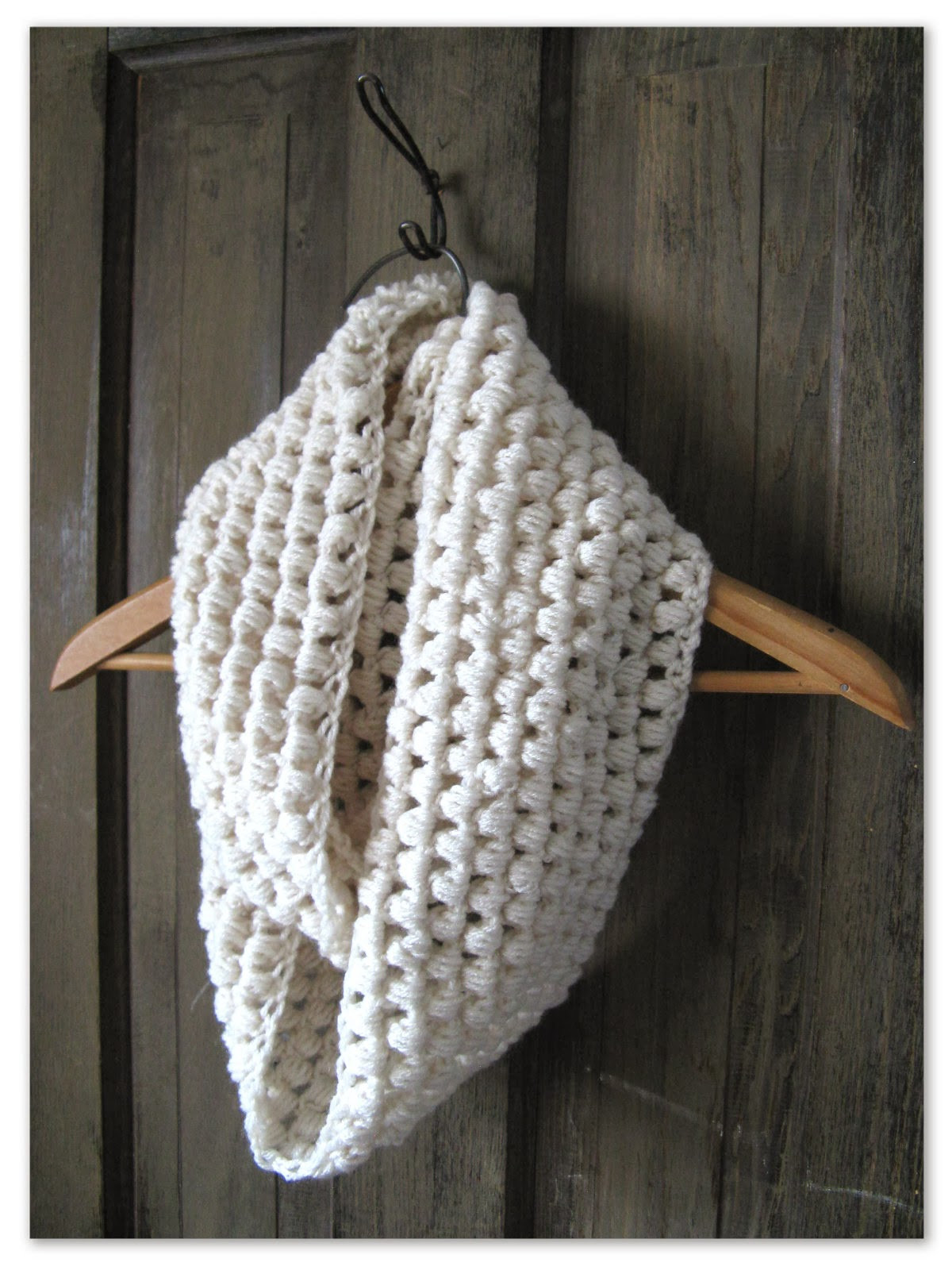 Inspirational Happy as A Lark Crocheting A Puff Stitch Infinity Scarf Puff Crochet Of Great 49 Ideas Puff Crochet