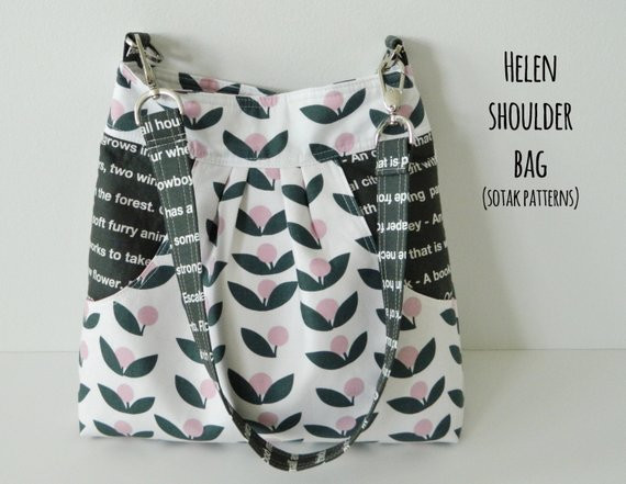 Inspirational Helen Shoulder Bag Pdf Sewing Pattern Instant Shoulder Bag Patterns Of Contemporary 47 Pictures Shoulder Bag Patterns