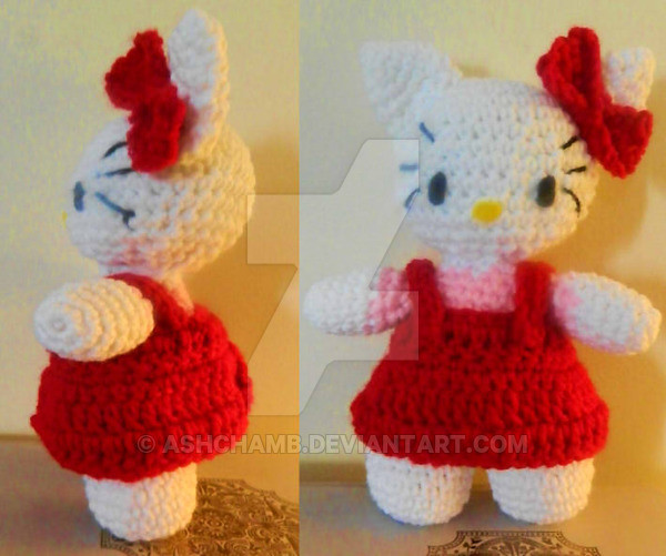 Inspirational Hello Kitty Amigurumi with Free Pattern by ashchamb On Hello Kitty Crochet Pattern Of Luxury 47 Images Hello Kitty Crochet Pattern