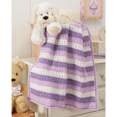Inspirational Herrschners Lilac Harmony Baby Blanket Crochet Afghan Kit Baby Blanket Kits Of Delightful 48 Pictures Baby Blanket Kits