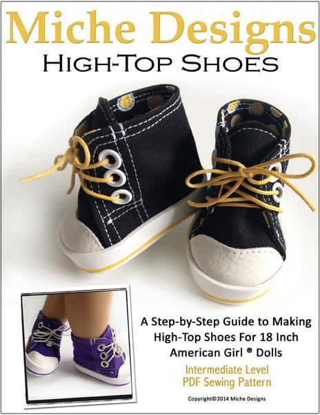 Inspirational High tops 18 Inch Doll Shoes Pdf Pattern Download Doll Shoes Pattern Of Lovely 46 Pictures Doll Shoes Pattern