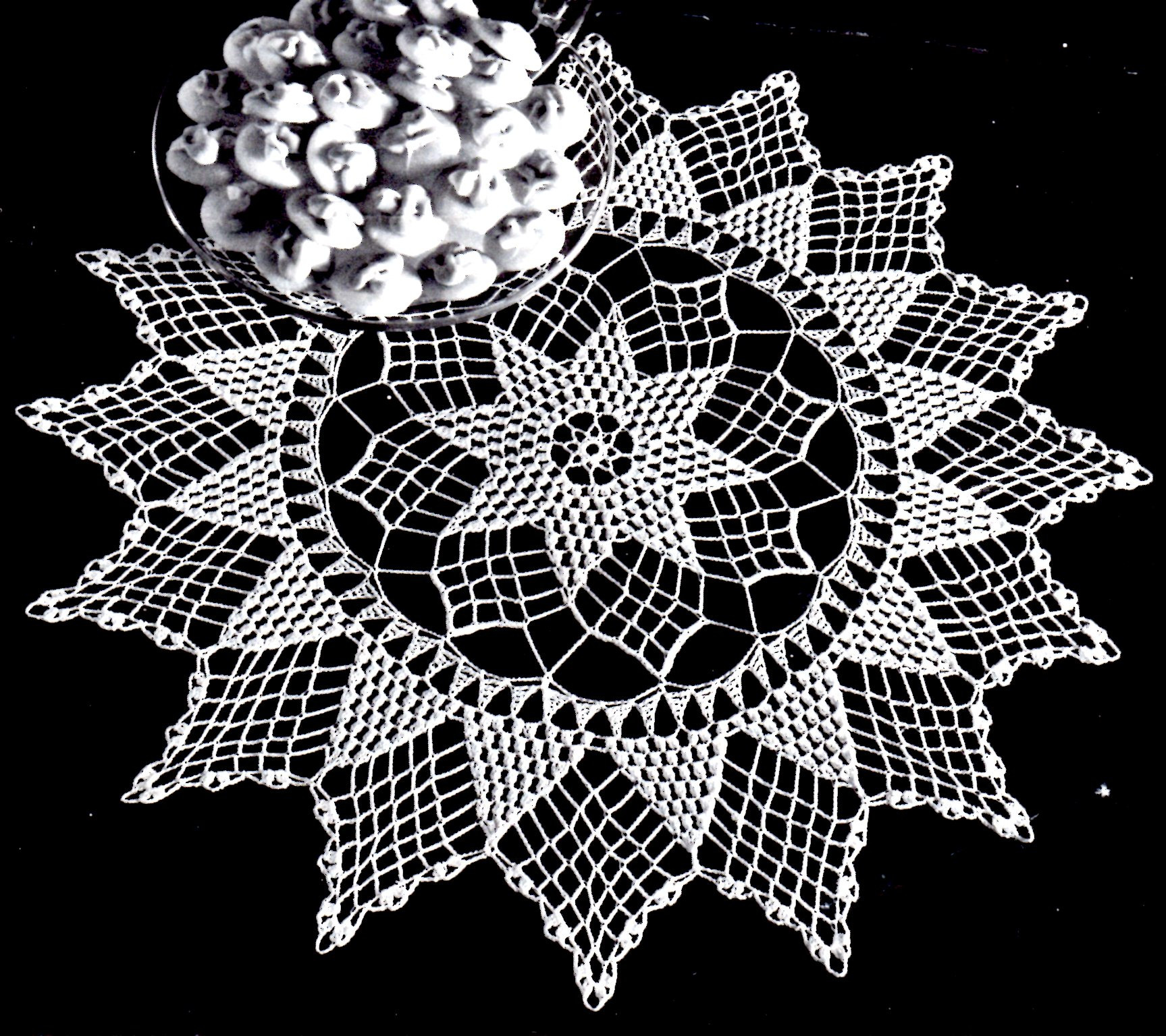 Inspirational Holiday Doily Archives Vintage Crafts and More Vintage Crochet Of Perfect 44 Models Vintage Crochet
