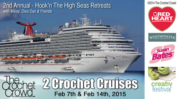 Hook and Sail Away with Mikey & The Crochet Crowd in Feb
