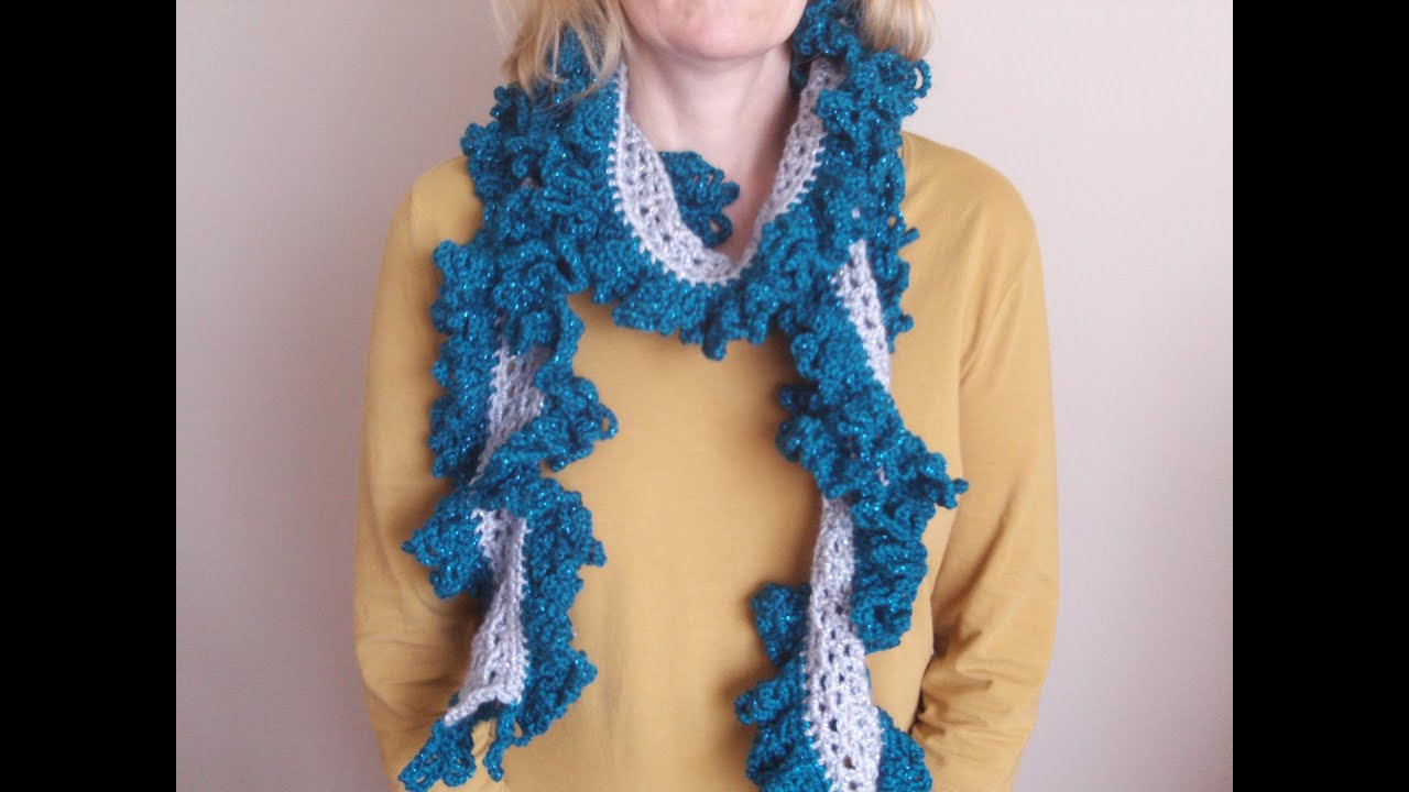 Inspirational How to Crochet A Ruffle Scarf Crochet Scarf Patterns Youtube Of Contemporary 47 Ideas Crochet Scarf Patterns Youtube