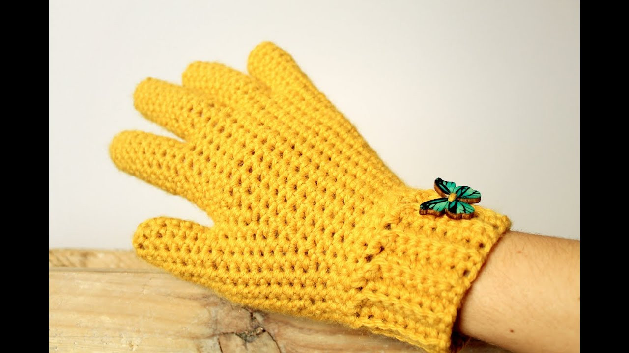 Inspirational How to Crochet Gloves with Fingers ♥ Crochet Lovers Crochet Gloves with Fingers Of Brilliant 50 Pics Crochet Gloves with Fingers