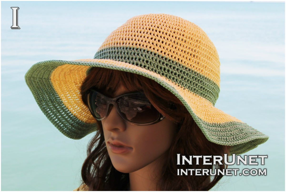 Inspirational How to Crochet Summer Sun Hat Free Pattern & Video Crochet Summer Hat Of Awesome 45 Images Crochet Summer Hat