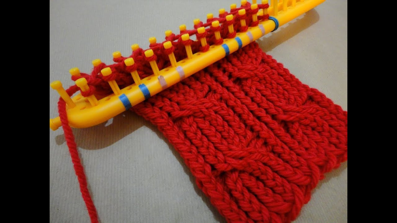 Inspirational How to Loom Knit A Cabled Scarf with A Rectangular Loom Scarf Loom Of Top 41 Pictures Scarf Loom