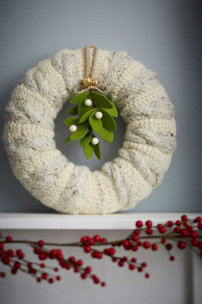 Inspirational How to Make A Knitted Wreath Hobbycraft Blog Knitting Crafts Of New 44 Models Knitting Crafts