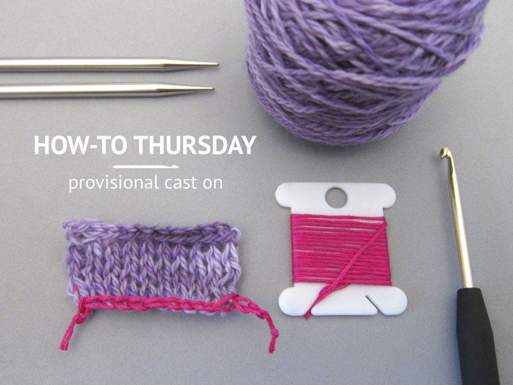 Inspirational How to Thursday Provisional Cast Stitch N Smile Provisional Cast On with Crochet Hook Of Charming 41 Photos Provisional Cast On with Crochet Hook