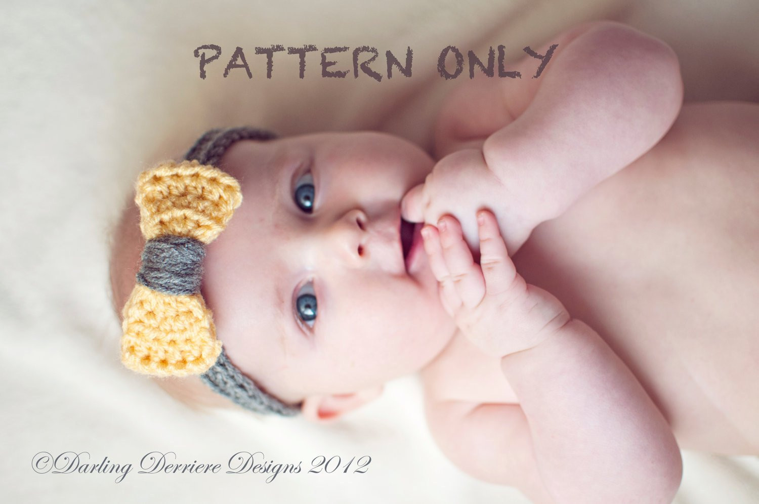 Inspirational Instant Download Pdf Baby Crochet Bow Headband by Baby Headband Pattern Of Awesome 49 Pics Baby Headband Pattern