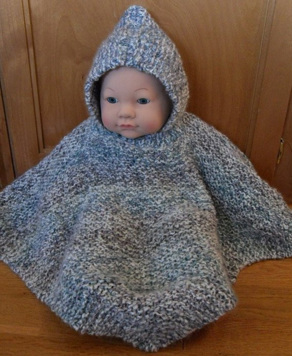 Inspirational Items Similar to Pattern Hooded Baby Poncho Size 6 Baby Poncho Pattern Of Gorgeous 49 Images Baby Poncho Pattern