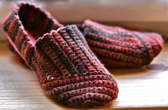 Inspirational Items Similar to toms Inspired Crocheted Slippers On Etsy toms Crochet Shoes Of Wonderful 45 Ideas toms Crochet Shoes
