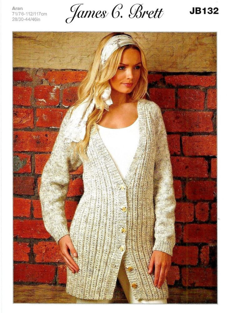 Inspirational James C Brett Aran Knitting Pattern La S Long Cardigan Long Cardigan Knitting Pattern Of Adorable 44 Models Long Cardigan Knitting Pattern