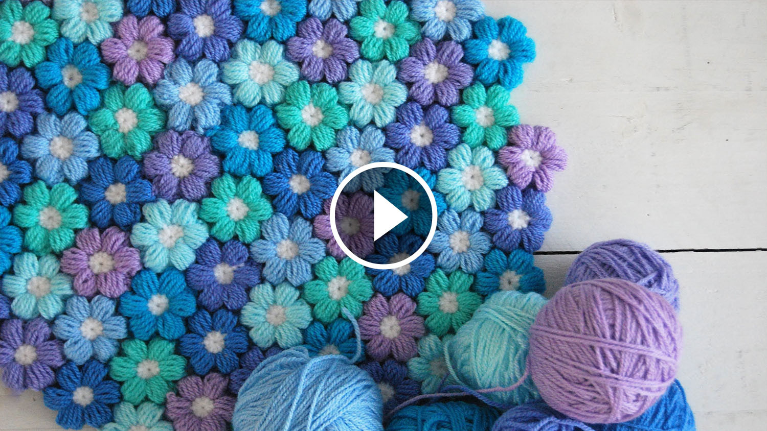Inspirational Joined Puff Flowers Crochet Pattern Tutorial Puff Crochet Of Great 49 Ideas Puff Crochet